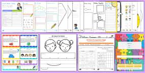 New Zealand First Week of School Resource Pack