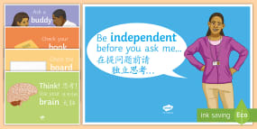 Be Independent Display Post...