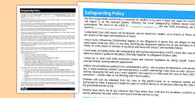 working with parents policy for childminder childminder