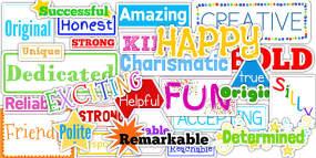 Inspirational Adjective Words