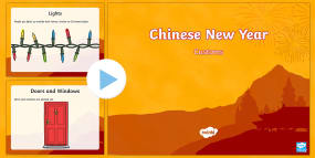 Chinese New Year Customs PowerPoint