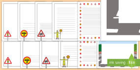 UK Road Safety Page Border...