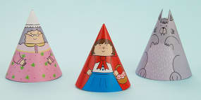 Little Red Riding Hood Cone...
