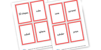 3d Shapes Cards - 3D Shapes Literacy Primary Resources -  Primary Resources, spaces