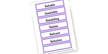 Materials - dissolving - Materials Literacy Primary Resources -  Primary Resources, materi