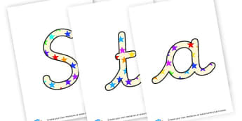 Starfish of the week - display lettering - Under the Sea Certificates Primary Resources, sea life, ocean