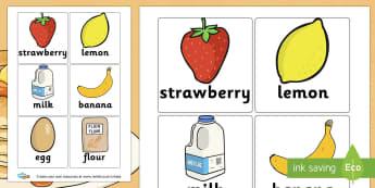 Pancakes Recipe Cards - Pancake Day (Shrove Tuesday) Keywords Primary Resources, pancake