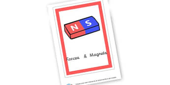 Forces & Magnets Book Cover - Ks2 Science, Forces and Motion, Worksheets, Motion,  Forces, KS2