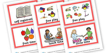 Routine Cards - SEN Daily Routine Resources, Daily Routine, Schedule, Timetable