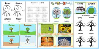 DIY Calendar Creation Pack - diy, calendar, pack, craft, activity