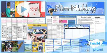 Computing: Film Making Year 6 Unit Pack
