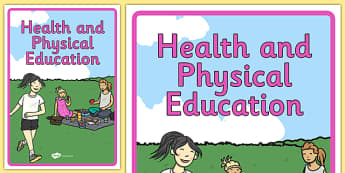 Australian Curriculum Health and Physical Education Book Cover - topic, PE, sport, fitness