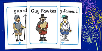 The Gunpowder Plot Display Posters - Display poster, bonfire night, sign, display, Guy Fawkes, bonfire, Houses of Parliament, plot, treason, fireworks, Catholic, Protestant, James I