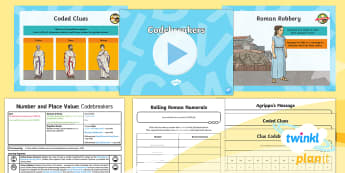 PlanIt Maths Y5 Number and Place Value Lesson Pack Roman Numerals (2)