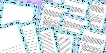 P Scale Music Activity Ideas For Tracking Progress P4 To P8