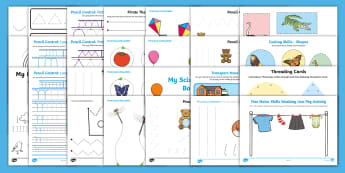 Fine Motor Skills Primary Resources, aids, cutting, writing, cut