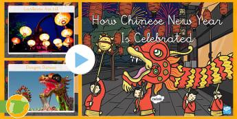 Presentación: How Chinese New Year Is Celebrated - Año nuevo chino, anio nuevo, año nuevo, china, chinos, culturas, cultural, festividad, fiesta, ide