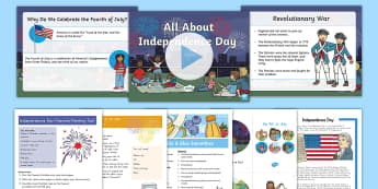 Independence Day K-2 Activity Pack - independence Day, fourth of july, 4th of july, july 4th, declaration of independence
