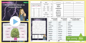 Year 6 Term 1B Week 5 Spelling Pack - Spelling Lists, Word Lists, Autumn Term, List Pack, SPaG