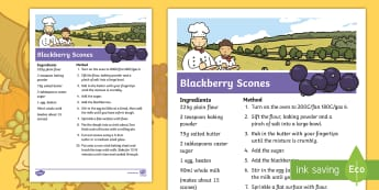Harvest Blackberry Scones Recipe-Irish - ROI Harvest,Irish