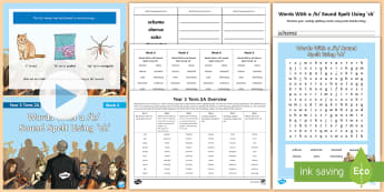 Year 3 Term 2A Week 6 Spelling Pack - Spelling Lists, Word Lists, Spring Term, List Pack, SPaG