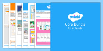 Core Bundle User Guide - twinkl, user guide, core, core bundle, free user guide, guide, user