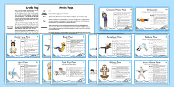 Arctic Yoga Story - arctic, yoga, story, yoga story, activity, polar region