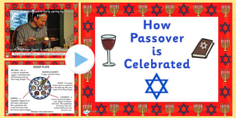 When is passover? PowerPoint - passover, how passover is celebrated, passover powerpoint, passover celebrations powerpoint, pesach powerpoint