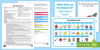 EYFS What Do Astronauts Do? Activity Adult Input Plan and Resource Pack - Back to Earth with a Bump, Twinkl Orignial, foundation, Early Years Planning, EYFS, Understanding th