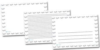 Aeroplane Landscape Page Borders- Landscape Page Borders - Page border, border, writing template, writing aid, writing frame, a4 border, template, templates, landscape