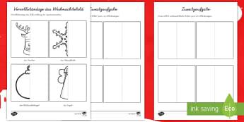 Themen Weihnachten Primary Resources - 1./2. Klasse - Page 3