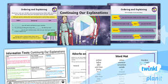 Space: The King of Space: Information Texts 6 Y3 Lesson Pack To Support Teaching on 'The King of Space' - Earth and space, astronauts, rex, adventure story, the pirates