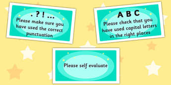 Time Saving Stickers for Marking Writing - marking, writing