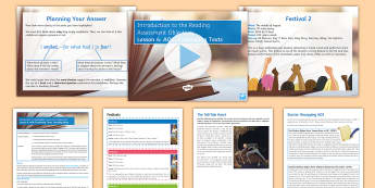 Introduction to the Reading AOs: AO4 Lesson Pack - KS3, english, Reading, Assessment, Objectives, AO4, GCSE,