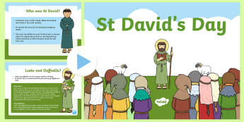 All About St Davids Day PowerPoint - st david, st davids day