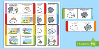 Weather Loop Cards English/Polish - Weather Loop Cards - weather, loop cards, loop, cards, activity, waether, WHEATHER, wetaher, weaher,