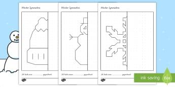 Winter - 1./2. Klasse Themen - Materialien auf Deutsch - Page 3