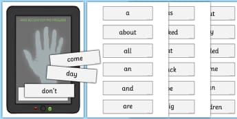 High Frequency Words Password Door Sign - high frequency words, password door, sign, display
