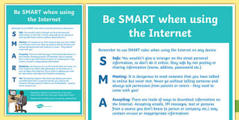 Computing Be SMART Online Poster - computing, be smart, smart, online, poster