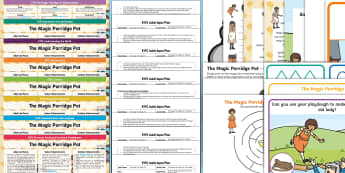EYFS The Magic Porridge Pot Lesson Plan Enhancement Ideas and Resource Pack - Early Years planning, EYFS, adult led, enhancements, continuous provision, planning