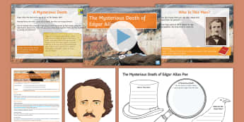 The Mysterious Death of Edgar Allan Poe Lesson Pack - General Election 08/06/2017, cooping, fraud, electoral fraud, election, poet, mystery, infer, detect