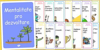 Mentalitate pro dezvoltare - Planșe motivaționale - motivație, motivațional, mentalitate, dezvoltare, planșe, de perete, de afișat, inteligență emoțională, dezvoltare personală, romanian, materiale, materiale didactice, română, romana, material, mate