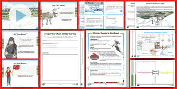 CfE Second Level Winter Resource Pack - Activities, Seasons, Maths, Number, 2nd level, Times of Year, themed packs, Literacy