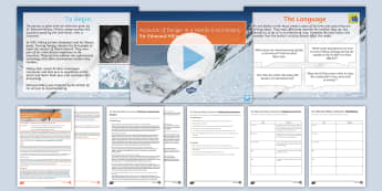 AQA P2 Reading Booklet Lesson Pack to Support Teaching on Sir Edmund Hillary's Interview  - AQA P2 Reading Booklet, reading comprehension, AQA, GCSE revision, paper 2, exam revision, exam prac
