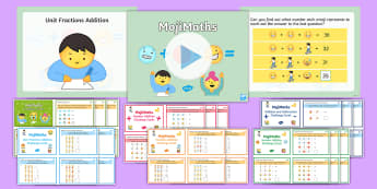 UKS2 MojiMaths Resource Pack - Mathemoji, Solvemoji, Emoticon, Emoji, Algebra