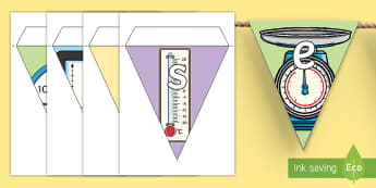 Guirlande de fanions : la semaine des mathématiques - événement, calcul, mathématiques, affichage, cycle 2, cycle 3,Scottish