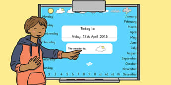 Todays Date Presentation Editable - presentation, date, today