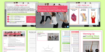 Safe Practice in Dance Lesson 1: Warming Up and Cooling Down - dance, warm up, cool down, safety