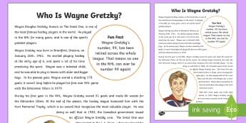 Who is Wayne Gretzky? Fact File - Canada's 150th Birthday, canada, canadian, ontario, hockey, edmonton, nhl, sports, the great one, f