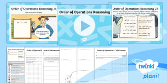 PlanIt Maths Y6 Addition, Subtraction, Multiplication and Division Lesson Pack Order of Operations (8) - Addition, Subtraction, Multiplication and Division, bodmas, bidmas, order of operations, addition, s